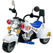 Lil' Rider™ White Knight Motorcycle - Three Wheeler