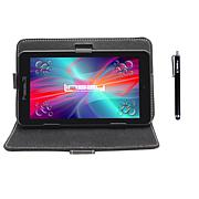 """LINSAY® 7"""" Quad-Core Android 10 16GB Tablet w/Case and Apps"""