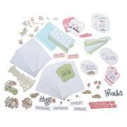 Little Darlings Ephemera Strawberry Patch 18-Card Kit