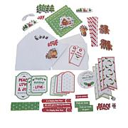 Little Darlings Holly Jolly Christmas Card Kit