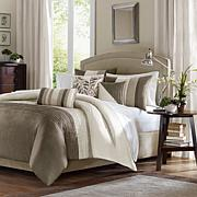 Madison Park Amherst Natural Duvet Set - King