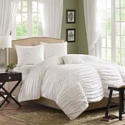 Madison Park Delancey Bedding Set White