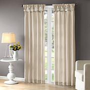 Madison Park Emilia Window Champagne Curtain