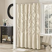Madison Park Vivian Shower Curtain - Ivory