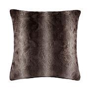 "Madison Park Zuri Faux Fur Euro Pillow 25""x25"""