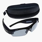 Magnavox Full HD Camcorder Sunglasses with 16GB microSD Card