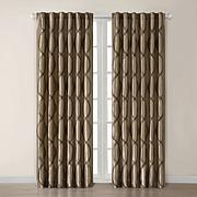Madison Park Marcel Window Panel - Tan