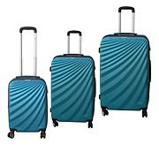 McBrine Hardside Luggage 3-piece Set