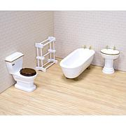 Melissa & Doug Doll Bathroom Furniture