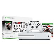 """Microsoft Xbox One S 1TB Console with """"NBA 2K19"""""""