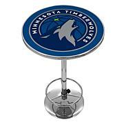 Minnesota Timberwolves NBA Chrome Pub Table
