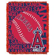 MLB Double Play Woven Throw - LA Angels of Anaheim
