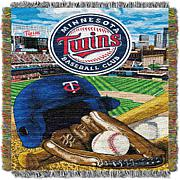 MLB Home Field Advantage Tapestry Throw - Twins