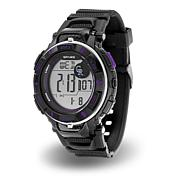 "MLB Team Logo ""Power"" Digital Sports Watch - Rockies"