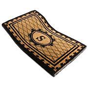 Monogrammed Coco Fiber Border Doormat