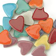 Mosaic Tiles Hearts 12 oz. Value Pack - Assorted Colors
