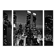 "Ariane Moshayedi ""Follow the Lights"" Multi-Panel Art Set"