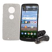"""Motorola Moto G6 5.7"""" 32GB Tracfone with 1200 Minutes, Texts and Data"""