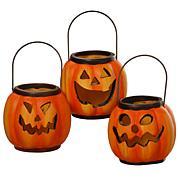 "National Tree Company 3"" Halloween Lanterns - Set of 3"