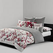 Natori Cherry Blossom Queen Duvet Cover Mini Set