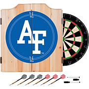 NCAA Dart Cabinet with Darts and Board - Air Force