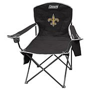 NFL Quad Chair with Armrest Cooler - Saints