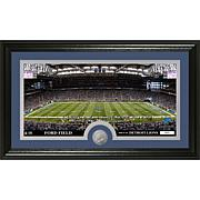 "NFL ""Stadium"" Minted Coin Panoramic Photo - Lions"
