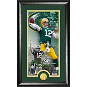 "NFL ""Supreme"" Bronze Coin Panoramic Photo-Aaron Rodgers"