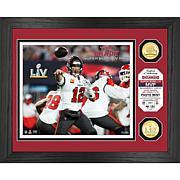 NFL Tampa Bay Buccaneers Super Bowl LV MVP Bronze Coin Photo Mint