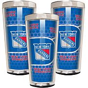 NHL 3-piece Shot Glass Set - Rangers