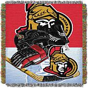 NHL Home Ice Advantage Tapestry Throw - Senators
