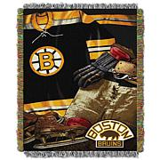 NHL Vintage Tapestry Throw - Bruins