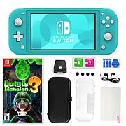 Nintendo Switch Lite w/ Luigi's Mansion 3 and 11 in 1 Accessories Kit