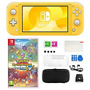Nintendo Switch Lite with Pokemon Dungeon Rescue and Accessories Kit