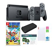 Nintendo Switch Mario + Rabbids Kingdom Battle and Accessories Kit