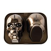 Nordic Ware Cast Aluminum Haunted Skull Cake Pan