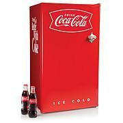 Nostalgia CRF32CK 3.2 Cu. Ft. Coke Refrigerator - Red