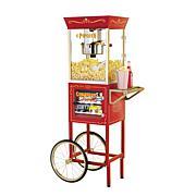 Nostalgia Electrics Popcorn and Concession Cart