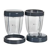 Nutribullet 2 18-oz. Cups with Resealable Lids