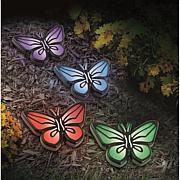 Odash Solar Butterfly Lights - Set of 4