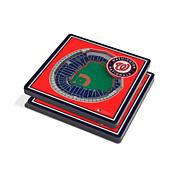 Officially Licensed MLB 3D StadiumViews Coasters-Washington Nationals