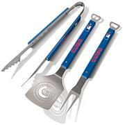 Officially Licensed MLB 3pc Spirit Series BBQ Set