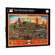 Officially Licensed MLB Joe Journeyman Puzzle - San Francisco Giants