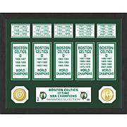 Officially Licensed NBA Banner Bronze Coin Photo Mint
