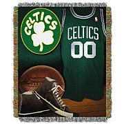"""Officially Licensed NBA """"Vintage"""" Woven Tapestry Throw"""