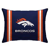 """Officially Licensed NFL 20"""" x 26"""" Plush Striped Bed Pillow"""