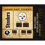 Officially Licensed NFL Bluetooth Scoreboard Wall Clock