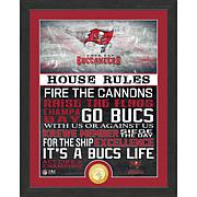 Officially Licensed NFL House Rules Bronze Coin Photo Mint