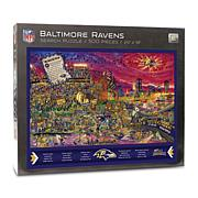 Officially-Licensed NFL Joe Journeyman Puzzle