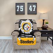 Officially Licensed NFL Recliner Protector with 3D Design